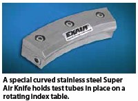 curved super air knife