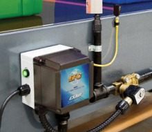 The EFC Electronic Flow Control uses a photoelectric sensor to turn air flow on & off, as needed.