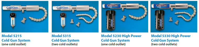 With four models to choose from, we've got most any cooling application covered.