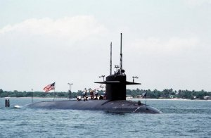 USS Greenling (SSN-614) Depth Gauge Reading zero (assumed)