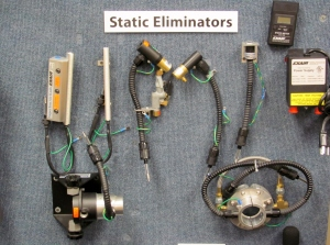 A Sample of EXAIR Static Eliminators