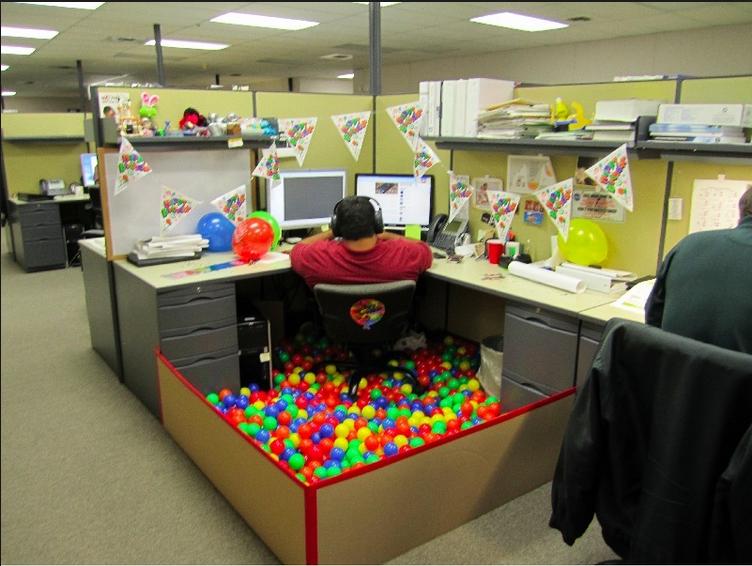 Поздравления с днем рождения офис