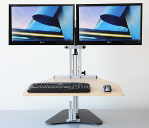 Kangaroo Elite   Adjustable Height Desk - Ergo Desktop