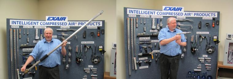 Here are just 2 of our 53 distinct models of Safety Air Guns.  I bet we've got the one you're looking for.
