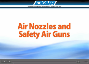 Air Nozzle and Safety Air Gun