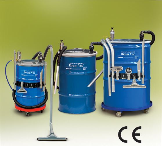 High Lift Reversible Drum Vac Family