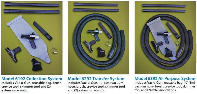 With three systems to choose from, we've got the portable vacuum system you need.