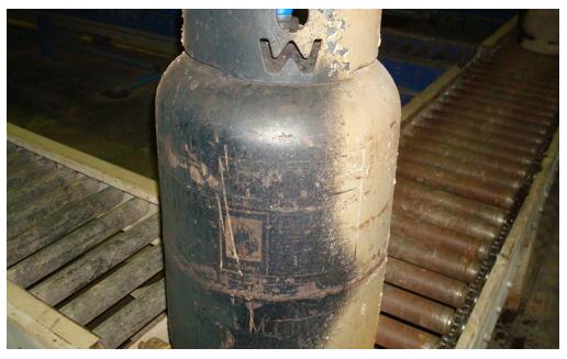 Dirty cylinder