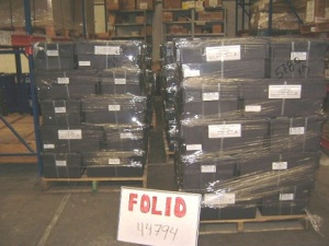 Wrapped Pallets