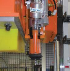line vac drill press