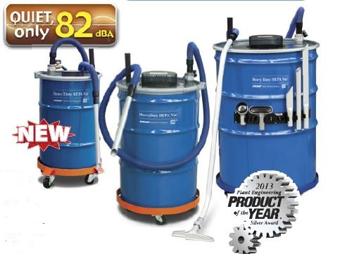 Heavy Duty HEPA Vac Family