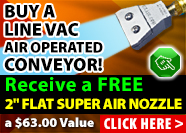 EXAIR's Line Vac promotion