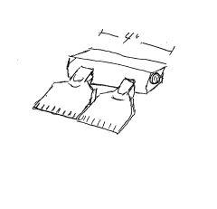 Dual Flat Nozzle Manifold