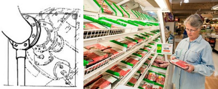 Our Compressed Air Piping web page is a valuable resource for safety AND efficiency (left.) Don't rely on smell or color; food package labels are your best indication of food safety (right.)