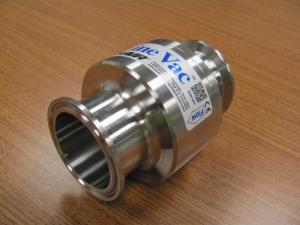 Model 161200-316 - 316 Stainless Steel Sanitary Flange Line Vac
