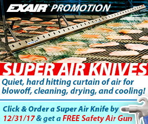EXAIR's Super Air Knife Promotion