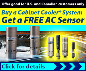 EXAIR's Cabinet Cooler Promotion
