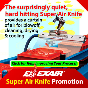 EXAIR Super Air Knife Promotion