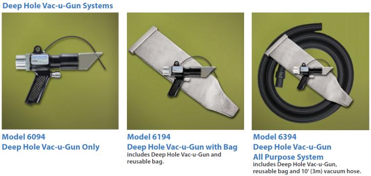 Deep Hole Vac-u-Gun Systems