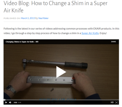 How_to_change_air_knife_shim