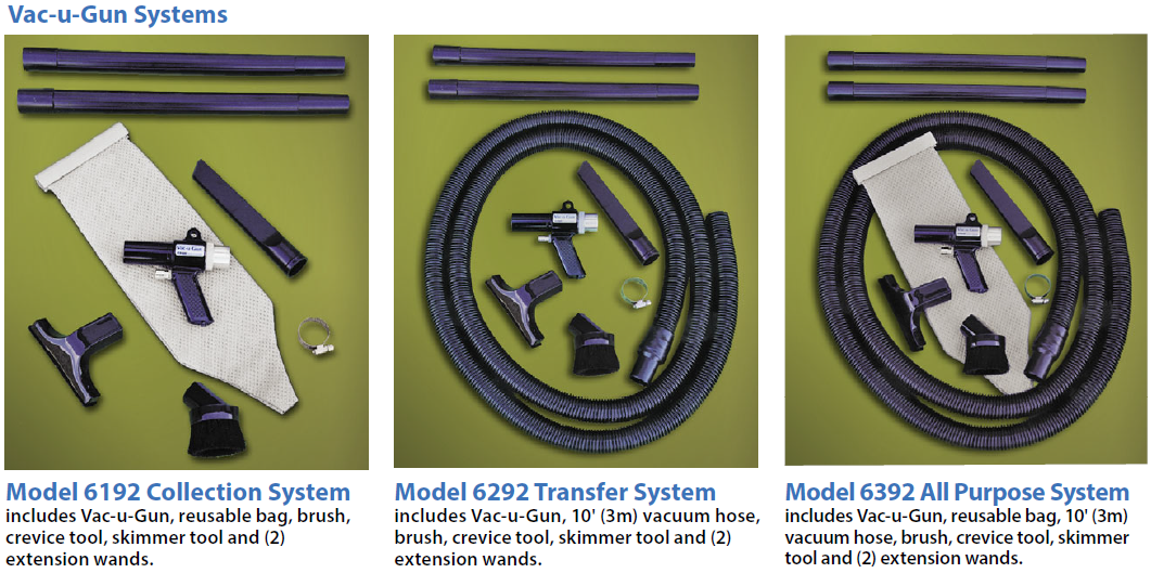 Vac-u-Gun System Options