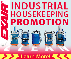 EXAIR Industrial Housekeeping Products Promotion