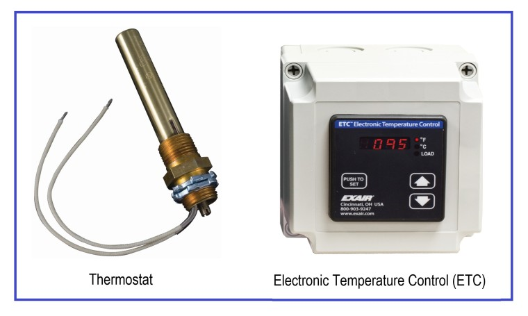 Thermostat and ETC