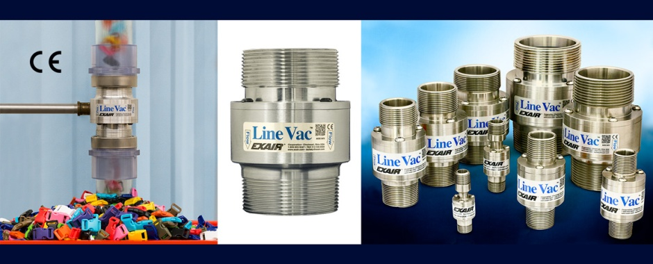 EXAIR's Threaded Line Vac Family