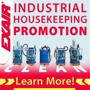 EXAIR Industrial Housekeeping Promotion