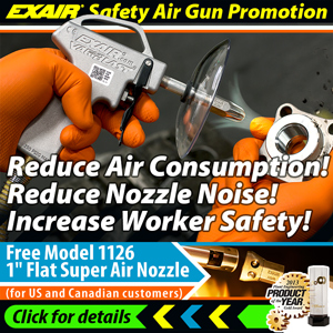 EXAIR Safety Air Promotion