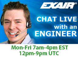 EXAIR Live Chat