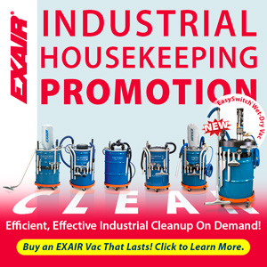 EXAIR Static Industrial Housekeeping Promotion